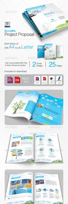 Business Proposal - V118 Business proposal, Corporate brochure and
