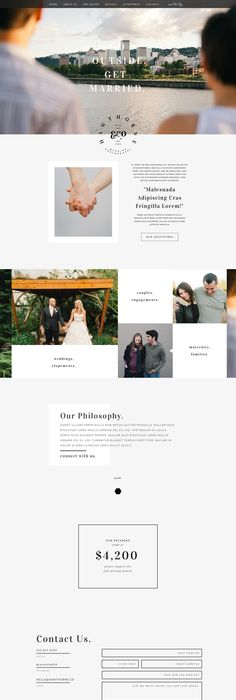 Alive Free Showit Free Photography Website Template - Free photography website templates