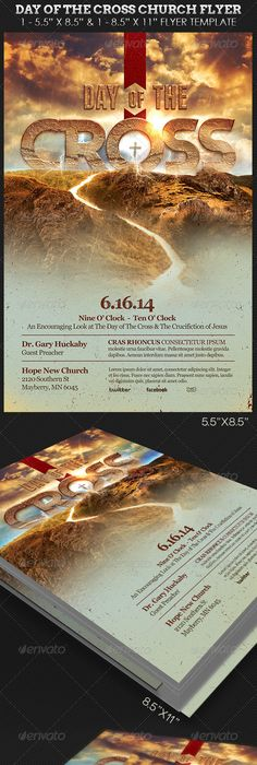 Best Easter Church Flyer Print Templates   Flyer Template