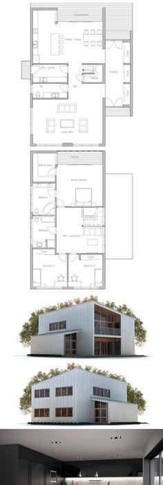 Floor Plan Dream Casa Pinterest House, Smallest house and Tiny