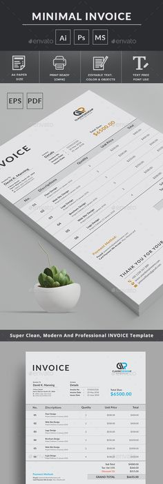 Invoice  Estimate Template  Template Business And Proposal