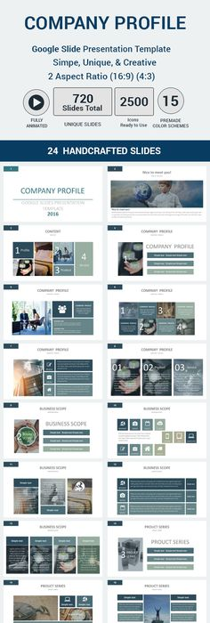 Company Profile PowerPoint Template Company Profile Powerpoint - Unique company profile presentation template ideas