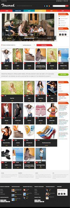 MJ Simple - Responsive WooCommerce theme - #wordpress #theme ...