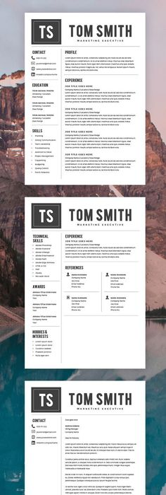 STAND OUT! Update your resume to more elegant and modern resume - best of cover letter sample download word