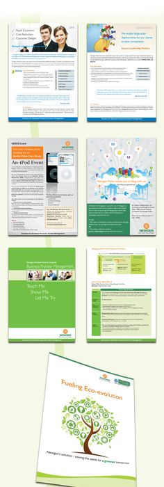 Orange Small Business Brochure Template  Brochure Templates