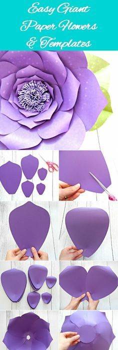 Download These Free Flower Petal Template Shapes And Create Your