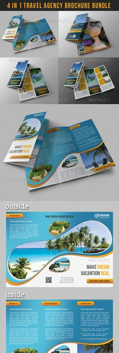 Travel Tri Fold Brochure 01 Tri Fold Brochure Tri Fold And Brochures
