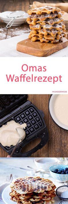 Omas Waffeln Rezepte Original waffeln to go rezept food snacks and kuchen