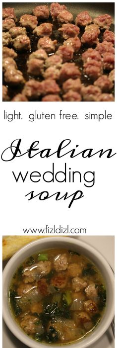 Italian Wedding Soup - Healthy #Vegan Dinner Recipes - #plantbased ...