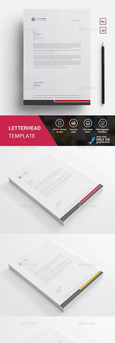 Letterhead  Stationery Printing Letterhead Design And Template