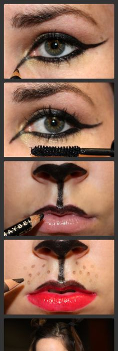 11 halloween looks you can create with makeup you already have 11 halloween looks you can create with makeup you already have makeup steps face contouring and white pencil solutioingenieria Choice Image