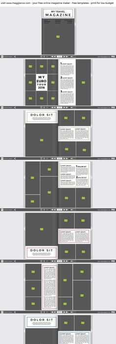 Wedding Album Template 20x20 or Blog Board Collage Photoshop ...