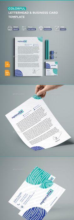 Creative business card letterhead business cards letterhead creative business card letterhead business cards letterhead template and template reheart Choice Image