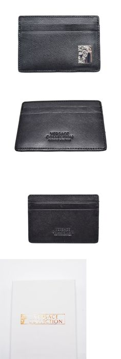 Business and credit card cases 105860 paul smith men s black business and credit card cases 105860 newversace collection black saffiano leather medusa money colourmoves