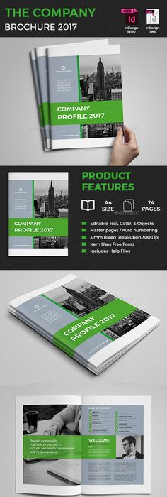 Company Profile Brochure  Company Profile Brochures And Brochure