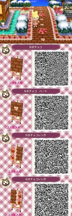 Halloween path part 2 animal crossing paths pinterest for Acnl boden qr