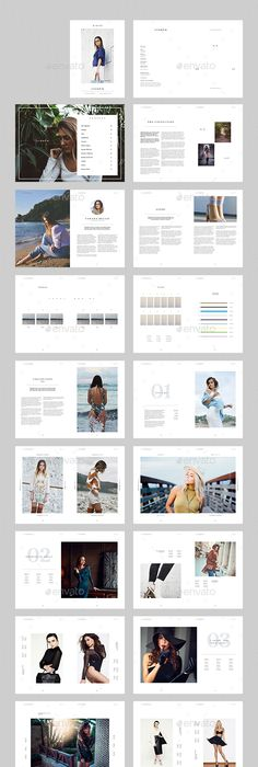 Fashion Catalogue | Template, Brochures and Brochure template