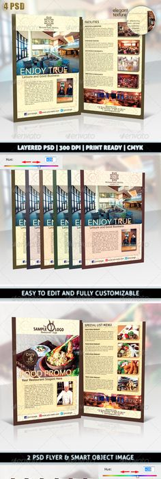Hotel Flyer  Psd Templates Template And Flyer Template