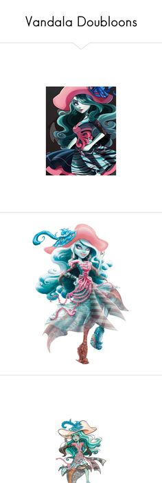 Vandala doubloons by bluetidegirl ❤ liked on polyvore featuring monster high dresses