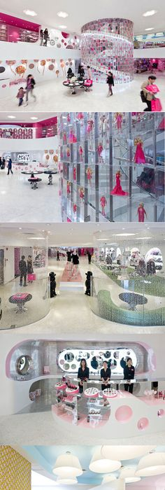 Barbie Flagship Store And Cafe Consept Designed By Slade Architecture,  Shanghai   China