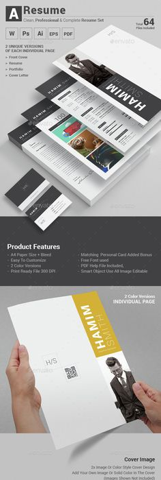 Resume Simple resume, Cv template and Template