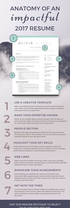 modern resume template for word page resume cover letter - Impactful Resume Update
