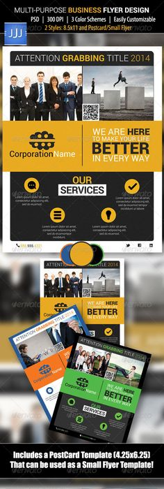 Multipurpose Clean Corporate Postcard Vol Direct Mail Direct - Direct mail flyer template