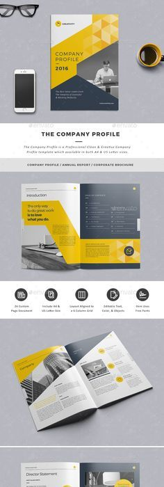 Booklet Brochure Template | Layout Design | Pinterest | Brochure ...
