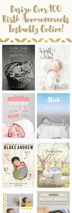 Little Man Birth Announcements by Lauren Chism at minted