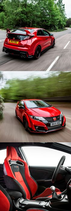 2015 Honda Civic Type R / FK2 / 306hp / Red / Japan / Hot Hatch