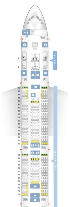 Seatguru Seat Map Delta Airbus A330 300 333 It S All