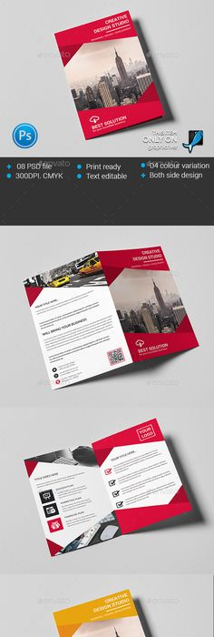 Bifold Brochure Template Psd Design Download Httpgraphicriver