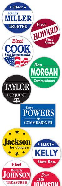 Campaign stickers @stevedodd