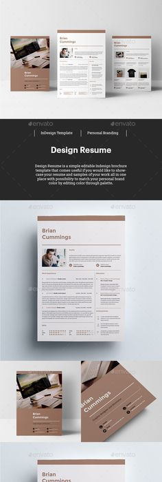 Catchy Horizontal Resume Resume ideas, Resume layout and Business - fresh 6 simple statement of work template
