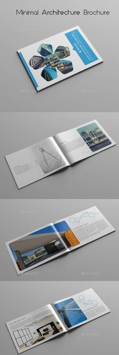 Architecture Brochure  Brochures Architecture And Text Fonts