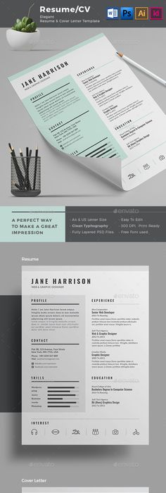 How To Make Creative Resumes For Creative Fields  Cv Template