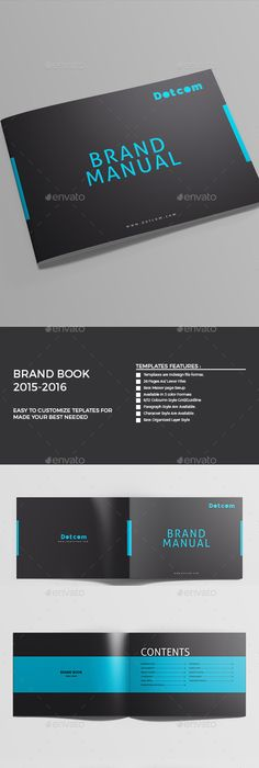 Pages Brand Manual Template Indesign Indd Download Here Http