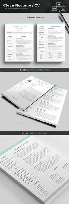 Infographic Resume Vol1 Infographic resume, Infographic and Resume cv - resume 1 or 2 pages