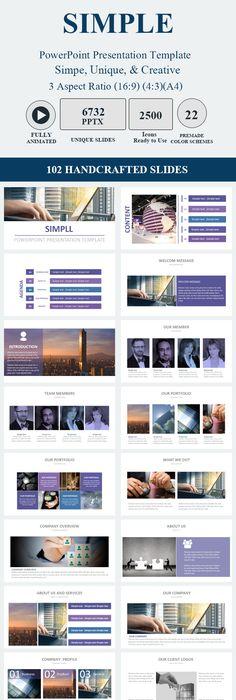 Artisan Clean #PowerPoint Presentation Template - PowerPoint