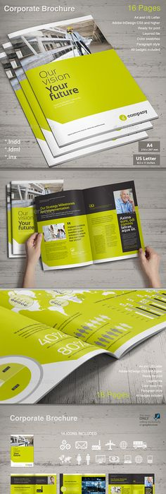 Macul Annual Report Annual Reports Layouts And Brochures - Indesign templates brochure