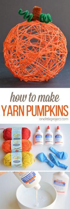 DIY Yarn Pumpkin These Incredible DIY Yarn Halloween Pumpkins Are An  Incredible Change And Design. Made From Simple Yarn Youru2026 Images
