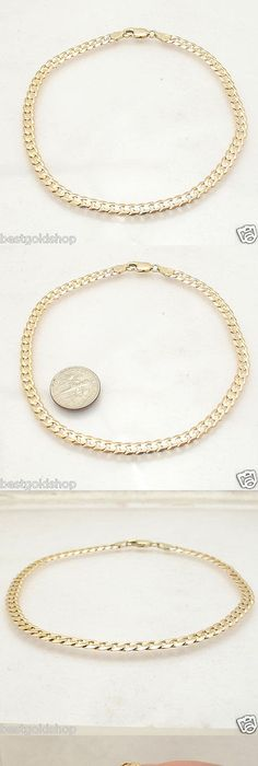 anklet tri inch pin gold ankle pricerock heart adjustable bracelet color inches