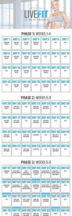 Diet calendar to lose weight