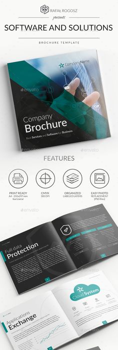 Product Catalog Square Brochure  Product Catalog Brochures And