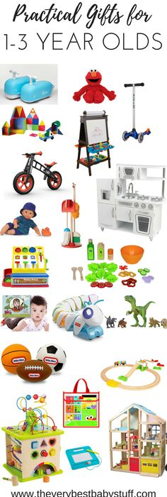 2016 Holiday Gift Guide For One To Three Year Olds Toddler Birthday