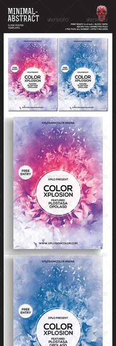 Glow In The City Flyer Template Download Psd File    Party