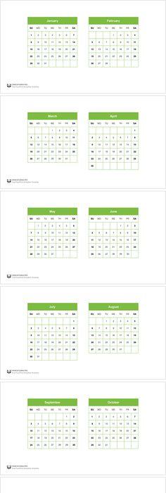 June 2016 Powerpoint Calendar Presentationgo Template