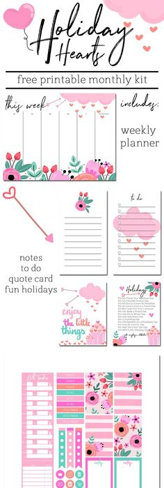 Free Printable Floral Things To Do List This List Can Be