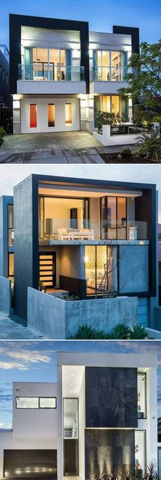 25 Modern Home Exteriors Design Ideas   Front fence, Fence gate and ...