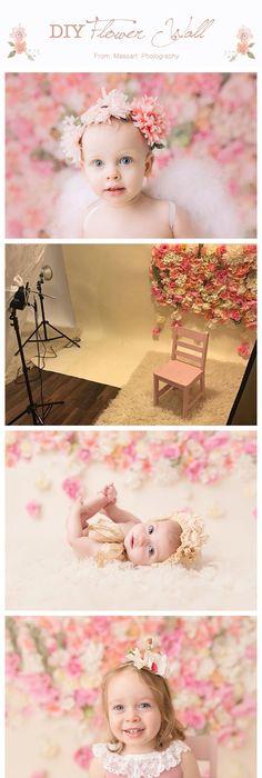 DIY Flower Photography Backdrop